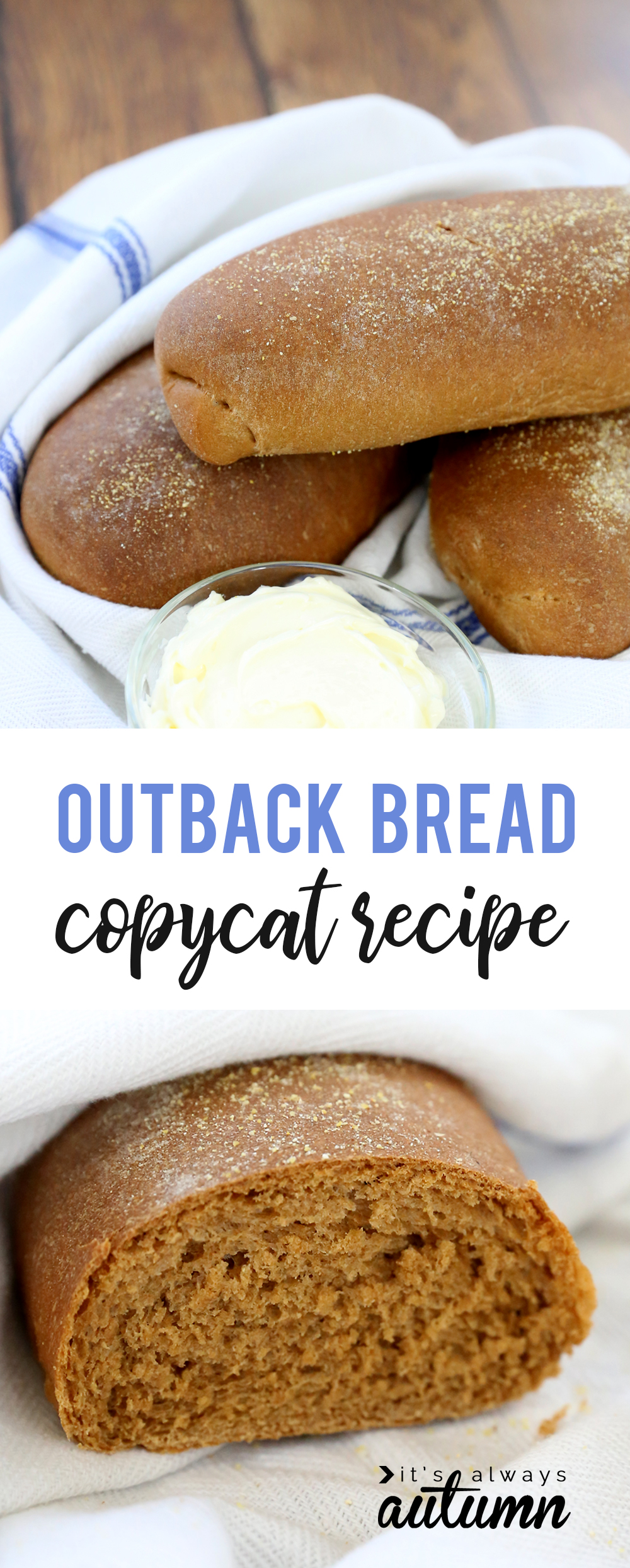 Outback Sweet Molasses Bread Recipe