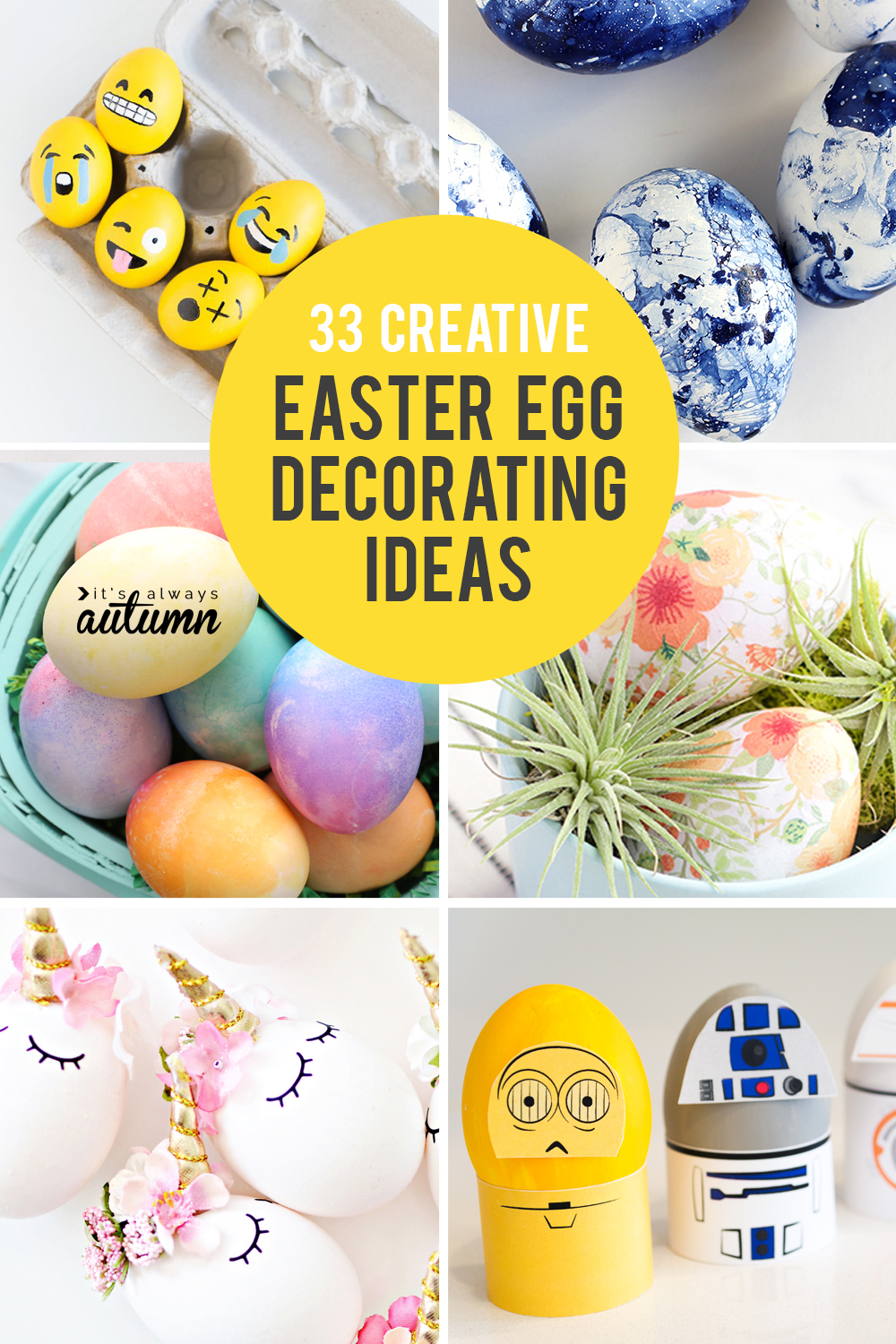 33 Amazing Egg Decorating Ideas For Easter Ditch The Dye It S
