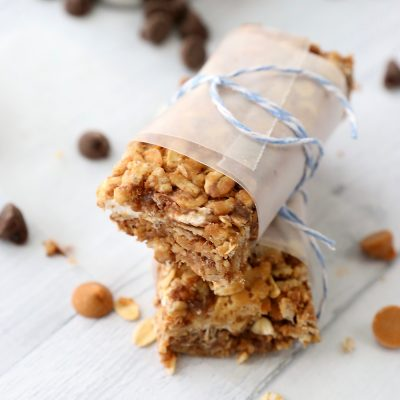 15 minute chewy chocolate granola bars