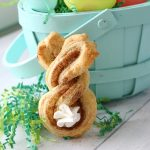 Cinnamon sugar Easter bunny twists {fun + easy Easter treat}