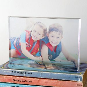 How to make an acrylic photo block in 10 minutes