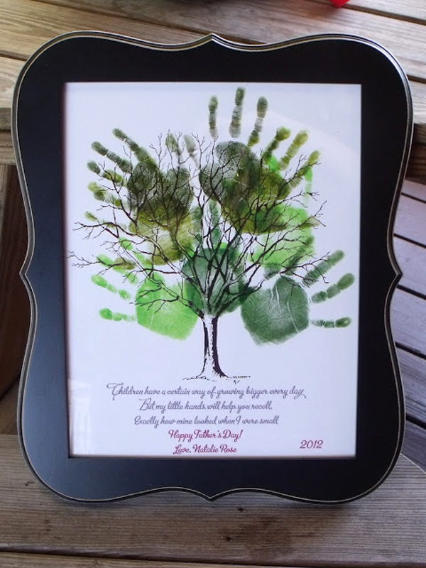 15 Creative Handprint and Footprint Art Gifts and Decorations