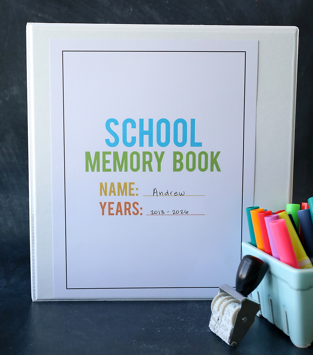 Organize School Papers The Easy Way With A School Memory