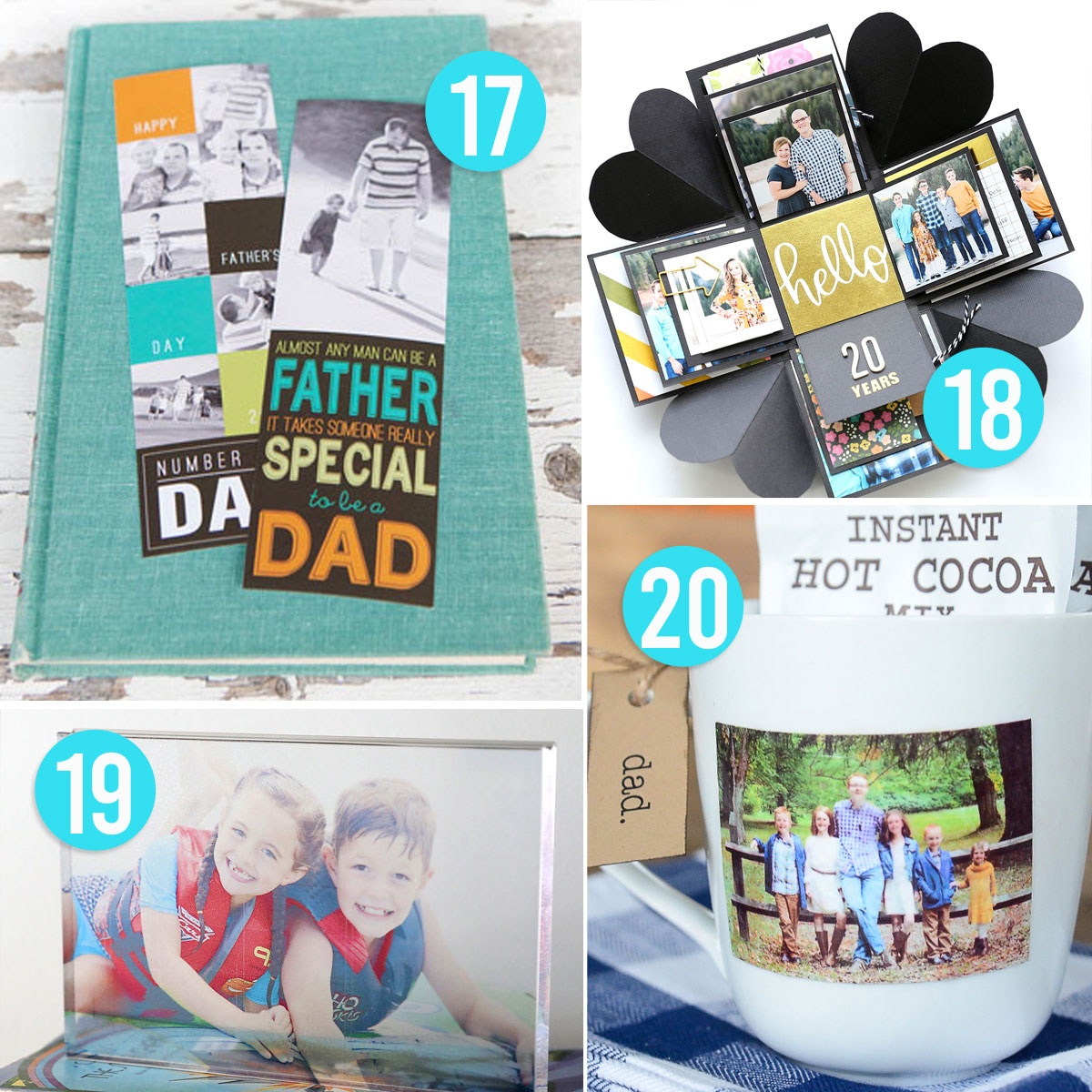20 Super Cool Handmade Father's Day Gifts