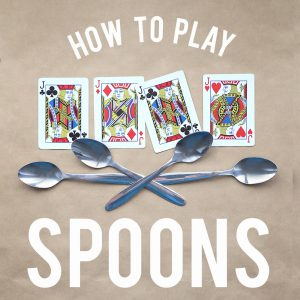 How to play spoons {easy + HILARIOUS card game}
