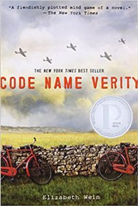 Novels set in World War 2 - Code Name Verity