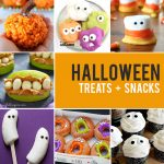20 fun + easy Halloween treats to make with your kids