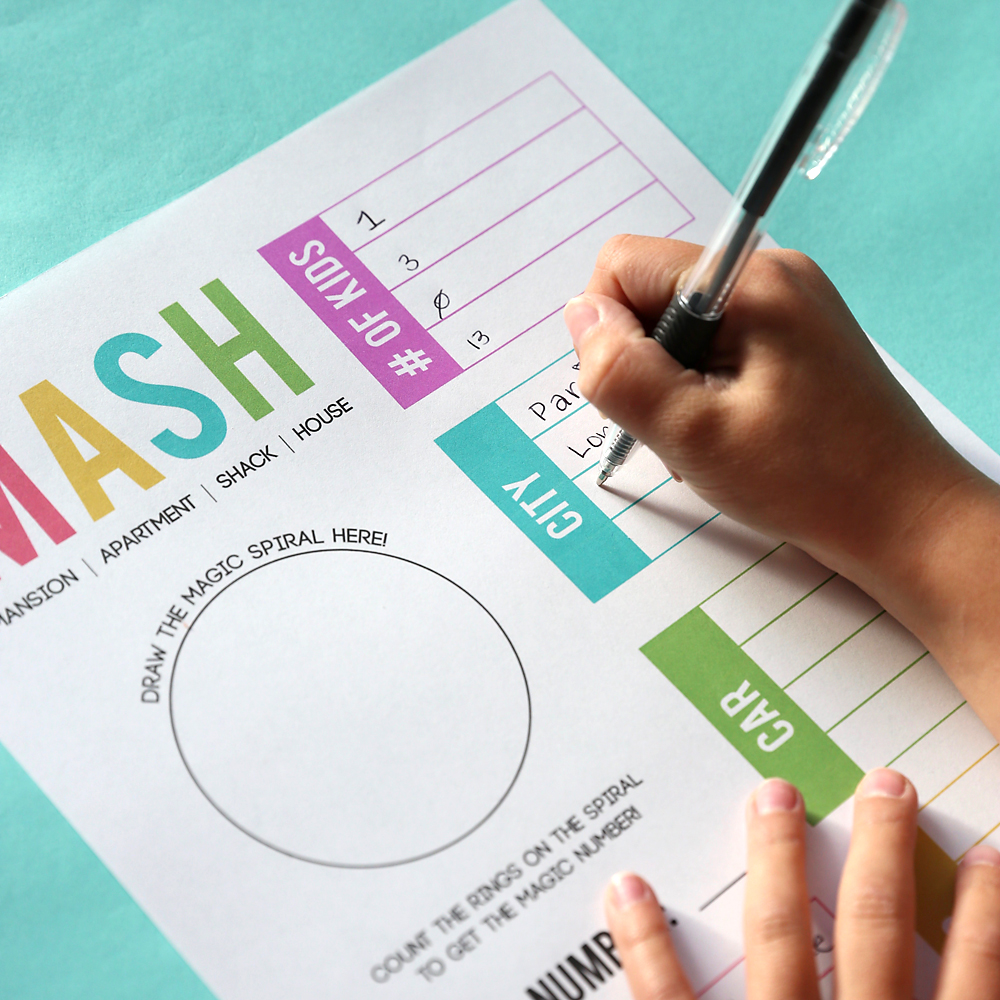 picture relating to Mash Game Printable titled How towards perform MASH + a no cost printable video game sheet! - Its
