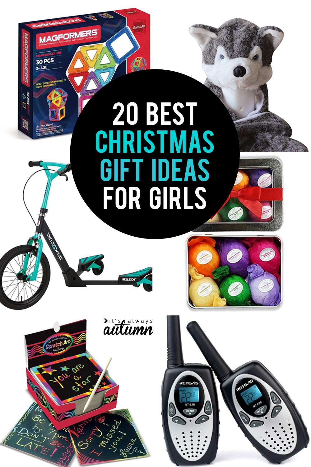 The 20 best Christmas gifts for girls! - It\'s Always Autumn