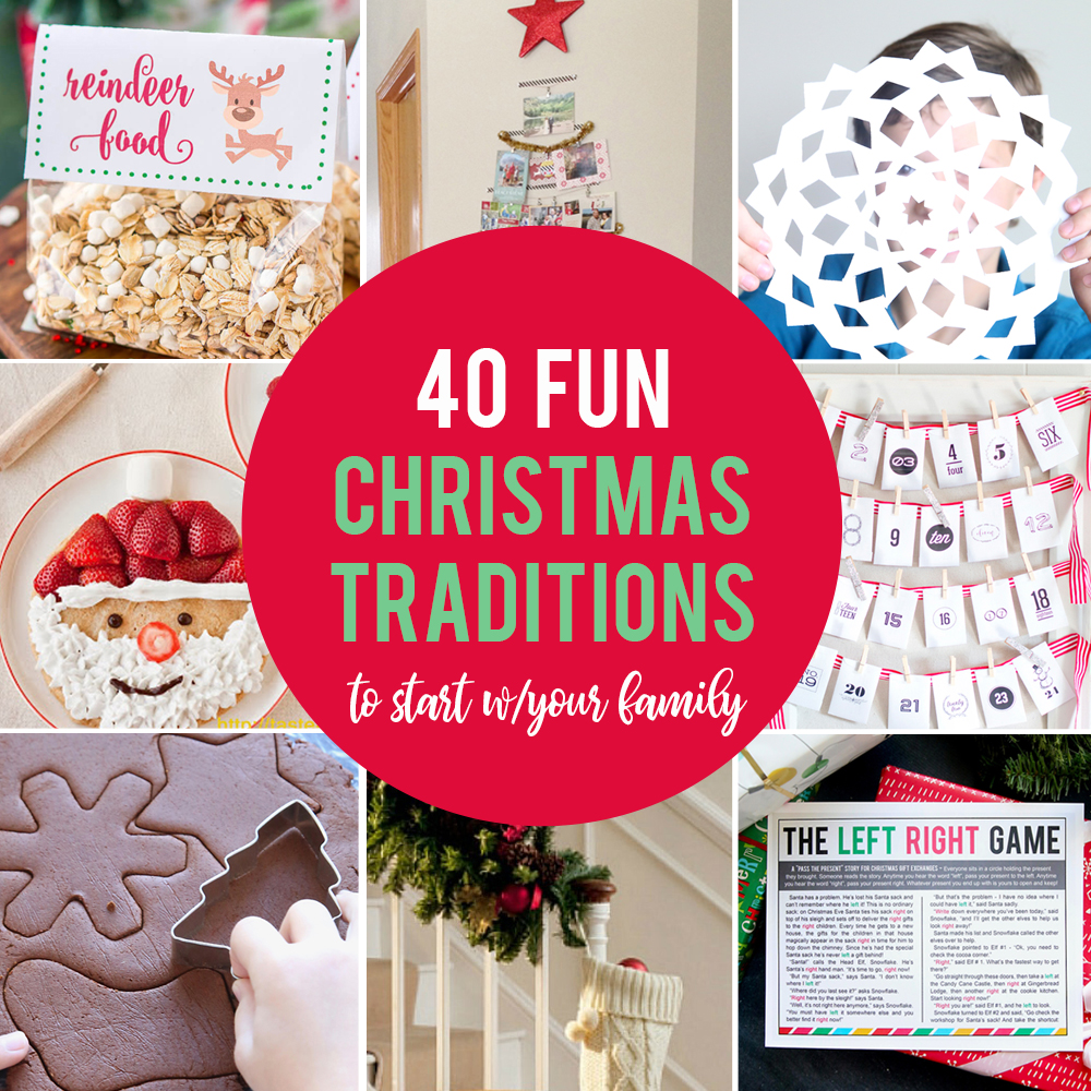 40 Fun, Inexpensive Christmas Traditions To Start With
