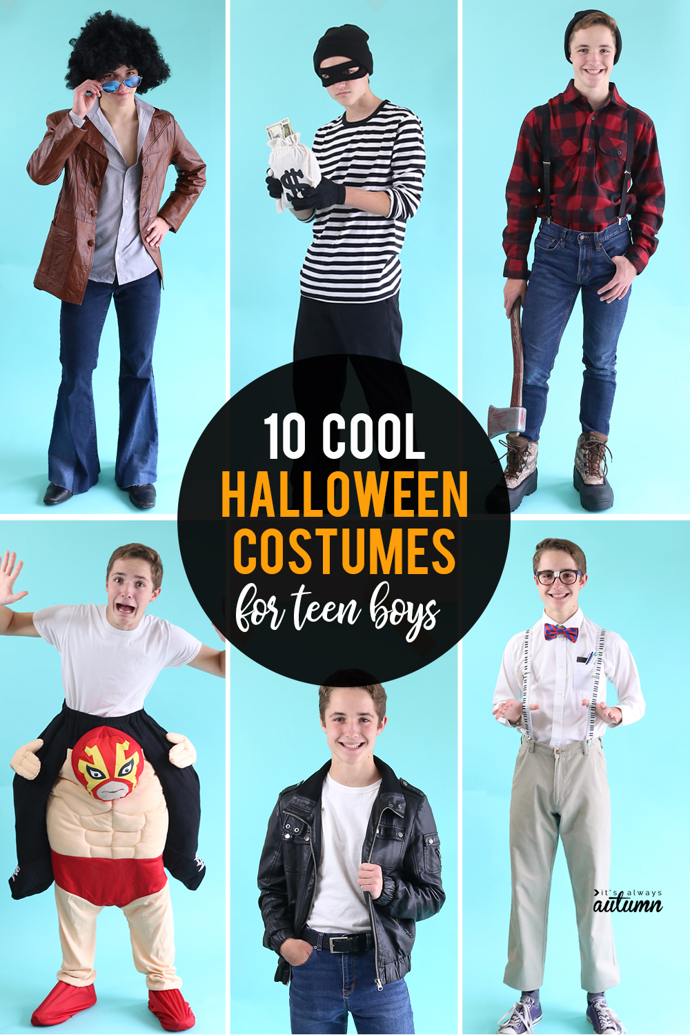 10 cool halloween costumes for teen boys - it's always autumn