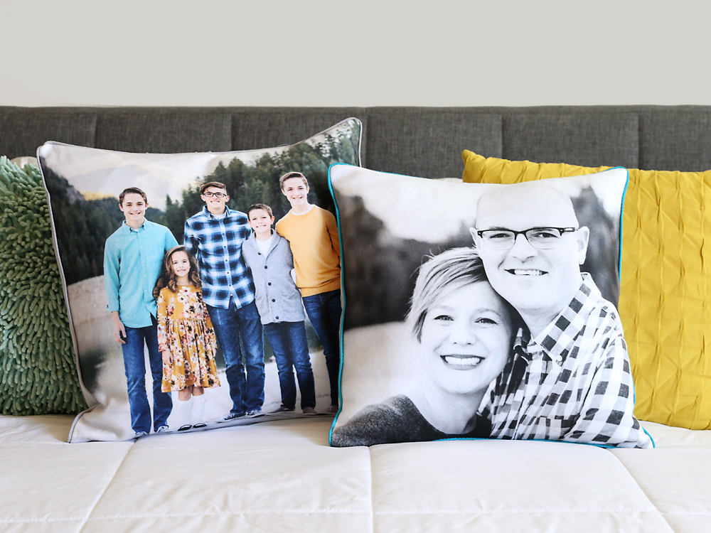 How to make personalized photo pillows.