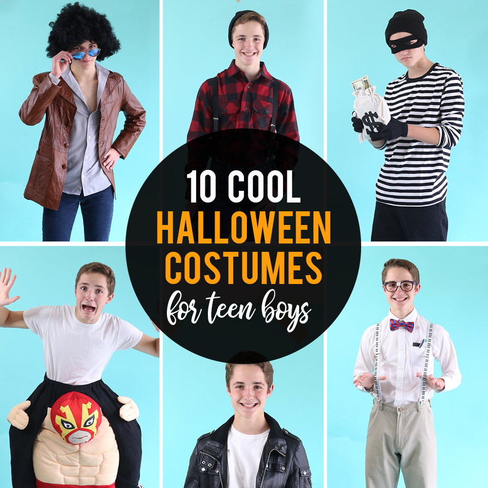 10 fantastic Halloween costumes for teen boys