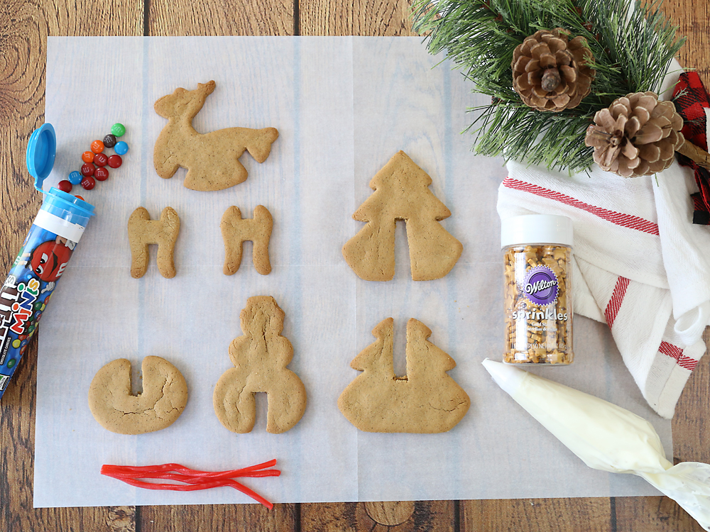 Make Adorable 3d Gingerbread Christmas Cookies It S Always Autumn