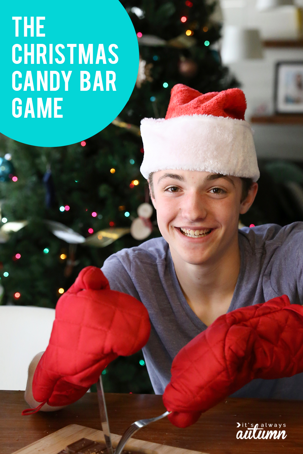 The Christmas candy bar game that's SO MUCH FUN! - It's ...