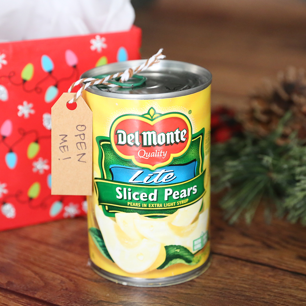 Funny Christmas money gift idea: Cash in a can - It's Always