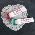 Slap bracelet Valentines: easy classroom Valentine idea