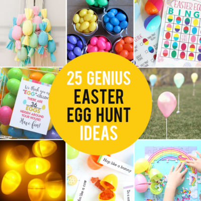 25 genius Easter egg hunt ideas + hacks