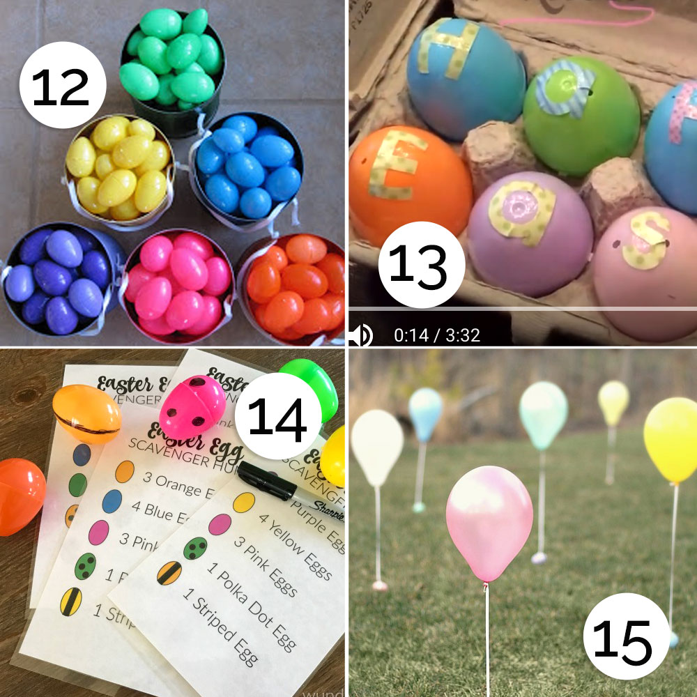 25 cool ideas for your Easter egg hunt!
