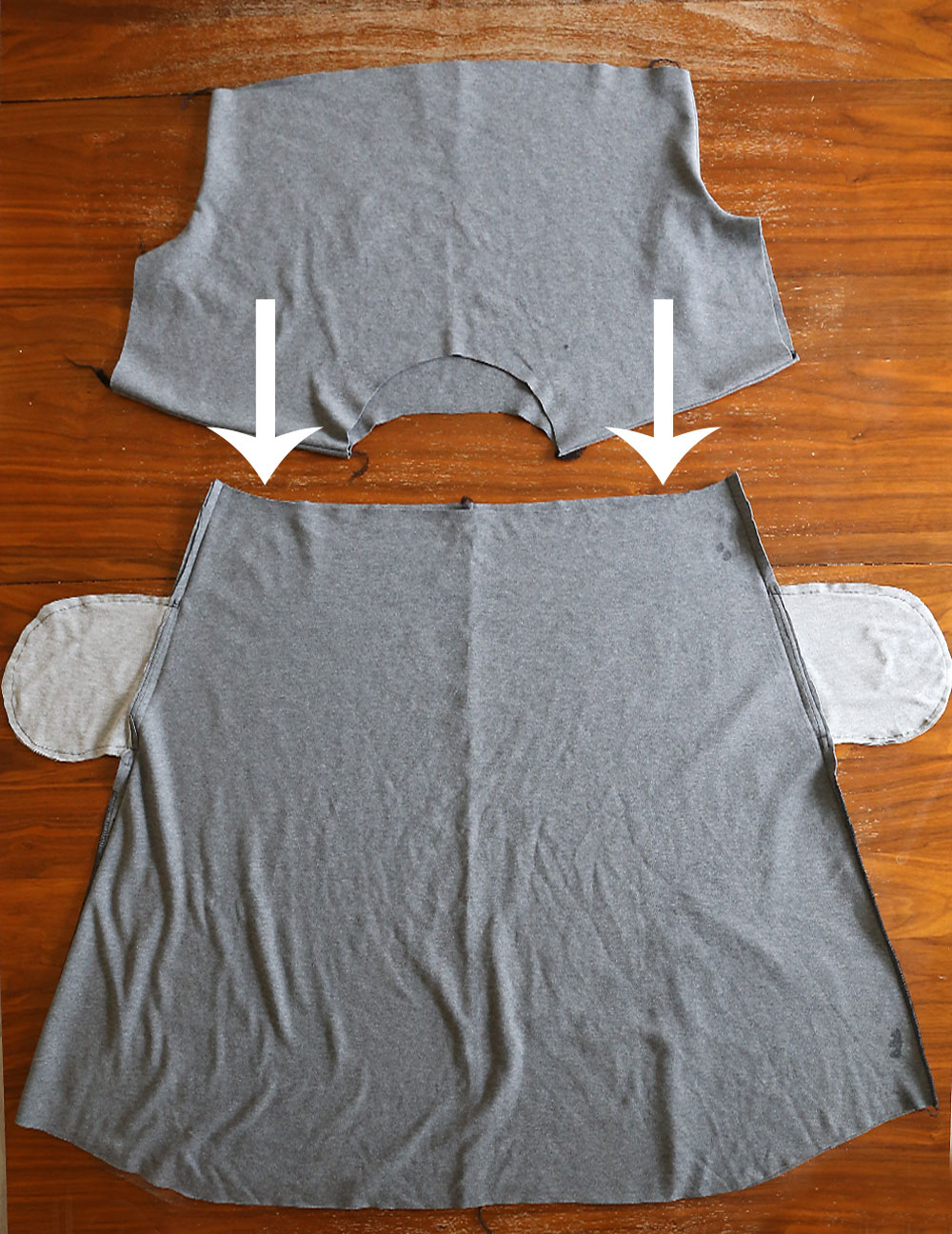 Free Everyday Dress pattern in women's size L.