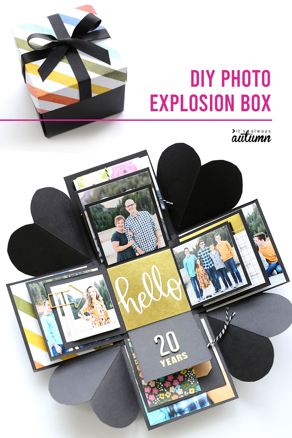 Learn how to make this cool DIY explosion box.