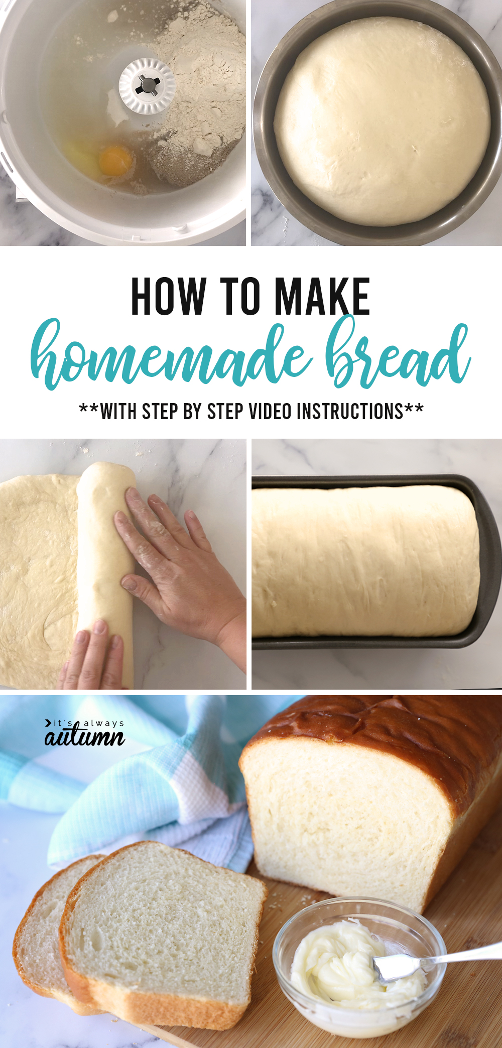 How to make delicious homemade bread: step by step instructions