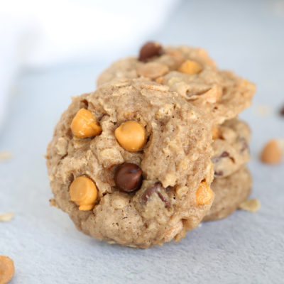 Butterscotch Oatmeal Spice Cookies {easy cake mix recipe}