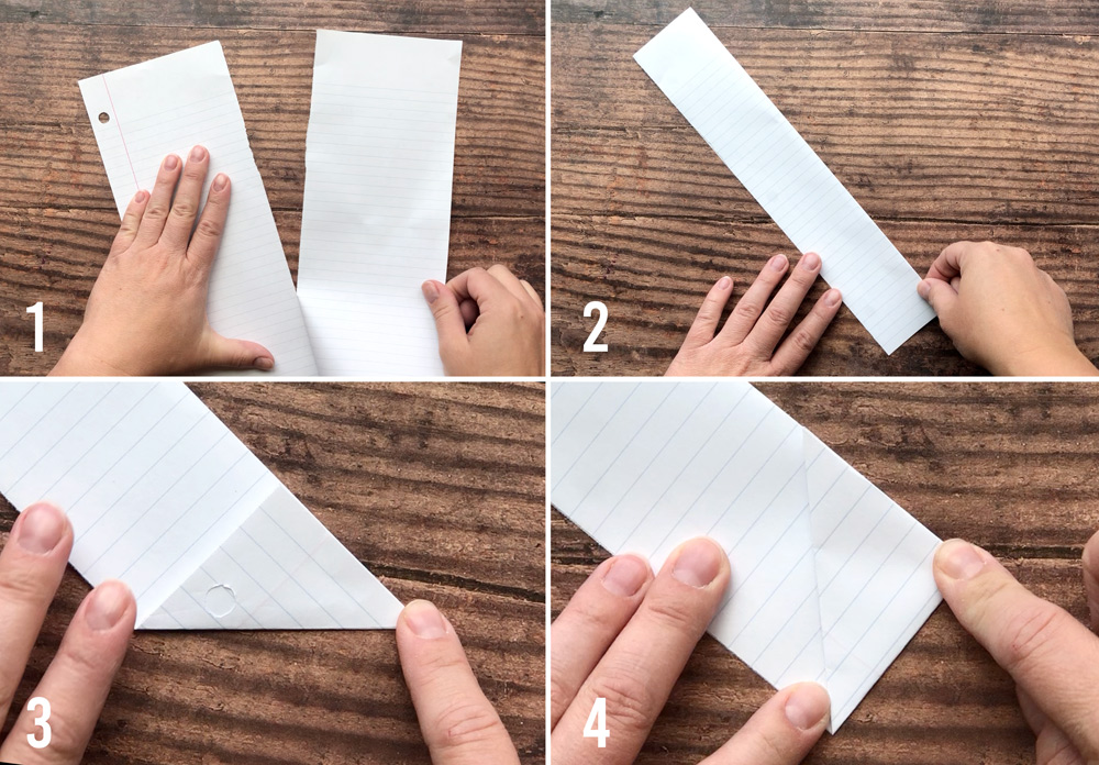 Paper football instructions