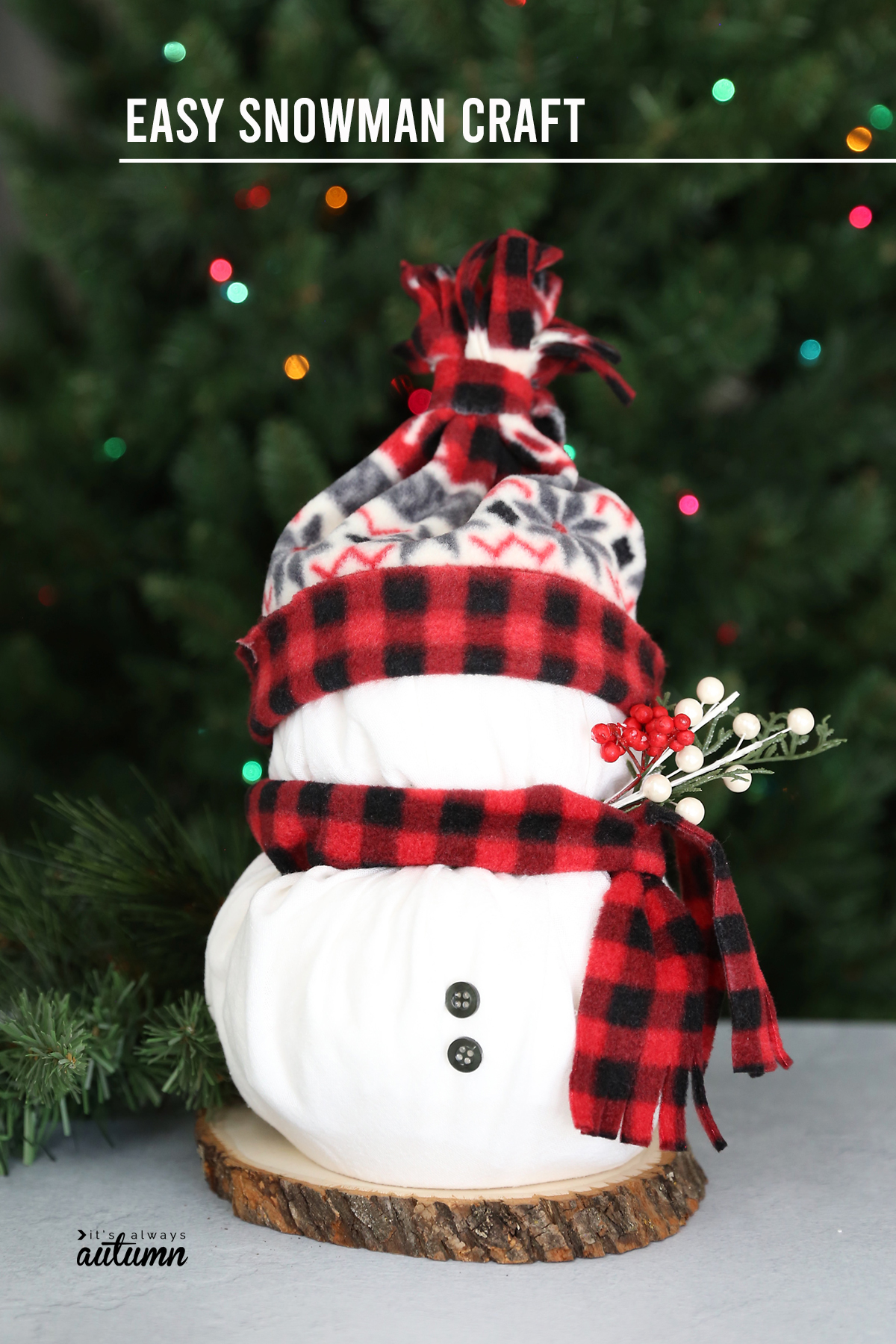 Toilet Paper Snowmen Easy Christmas Craft It S Always