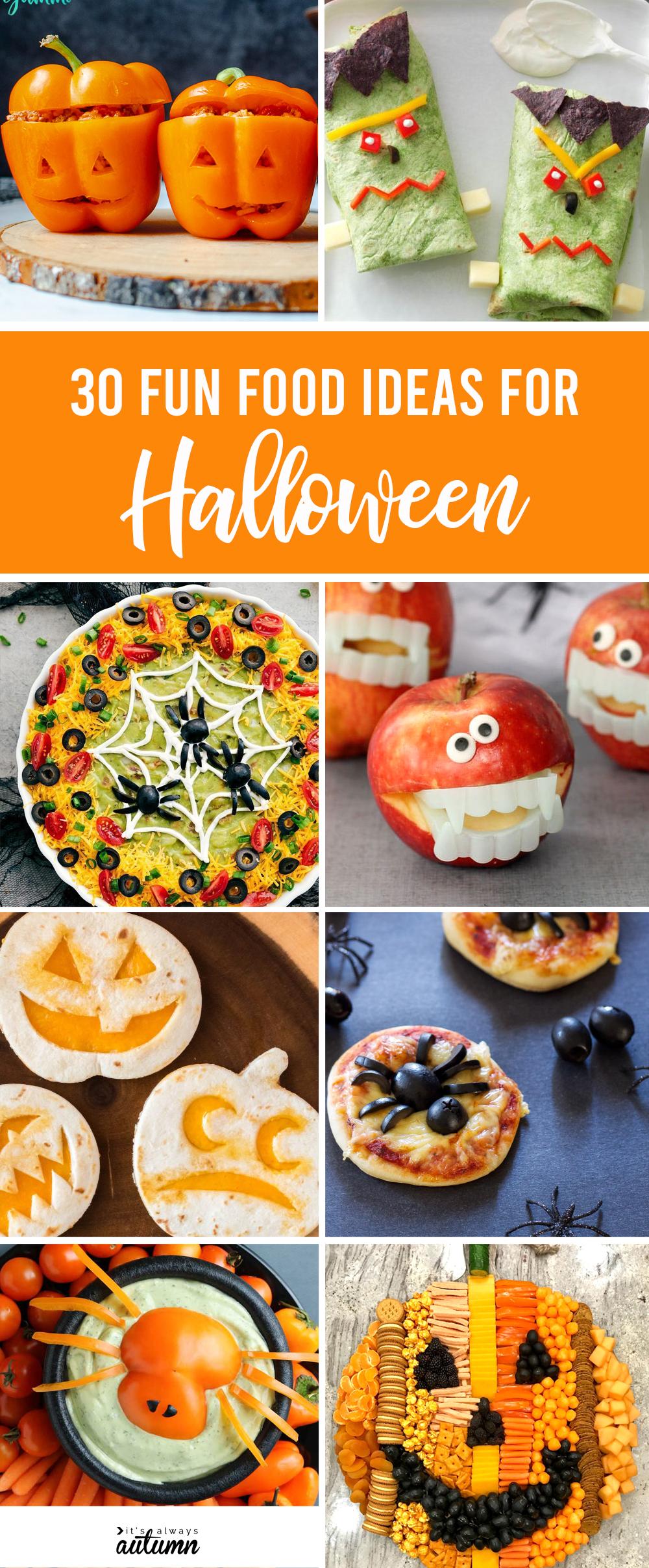 30 adorable Halloween food ideas