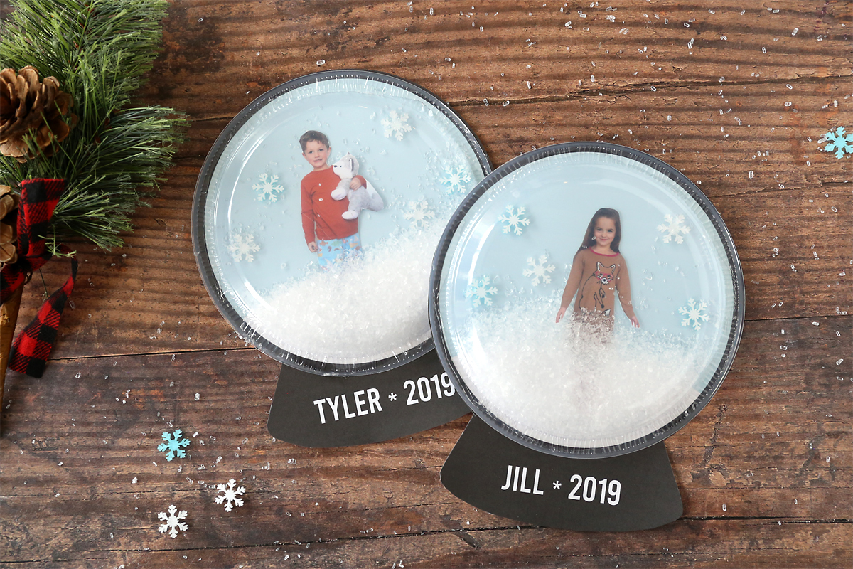 Snow Globe Christmas craft