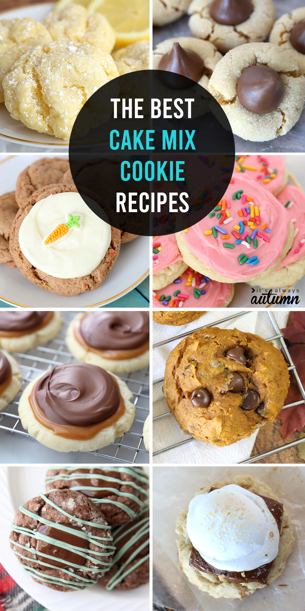 Find out how to make any flavor of cake mix cookies you want! The ultimate cake mix cookie recipe guide.