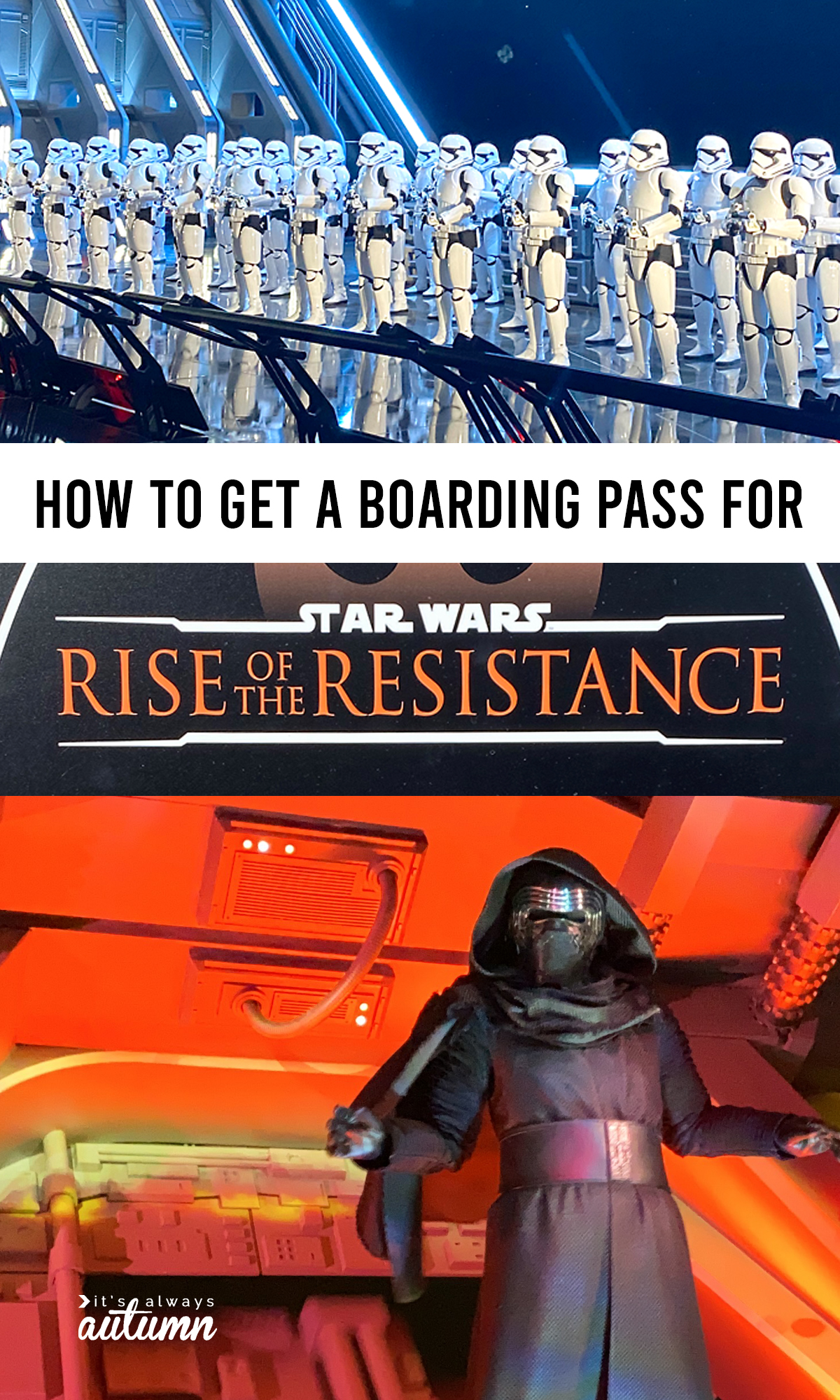 Did you know you can't ride the new Star Wars Rise of the Resistance without a boarding pass? Learn how to get one!