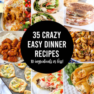 SUPER Easy Dinner Recipes (7 ingredients or less!)