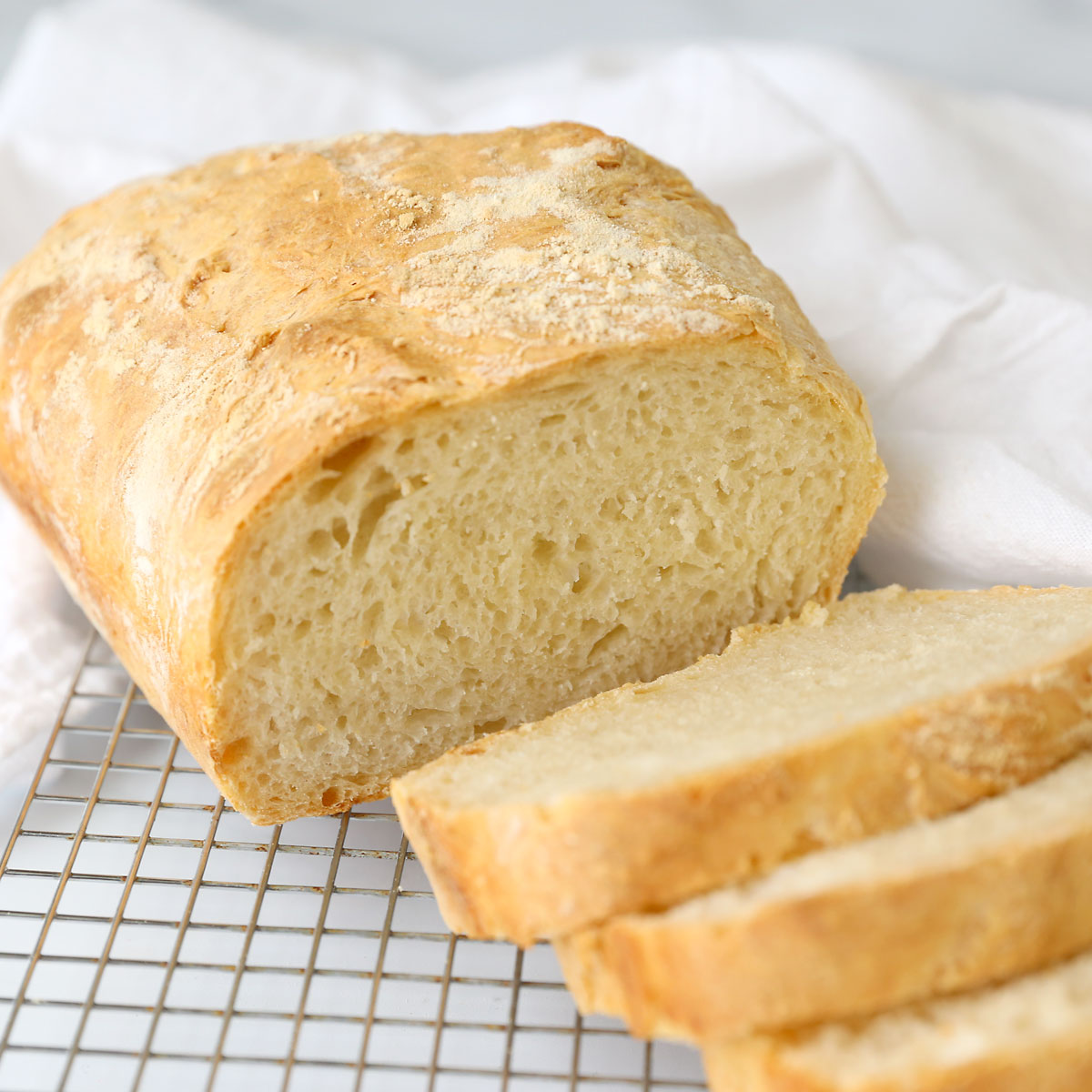4 home stuck ingredient {unusually easy bread recipe}