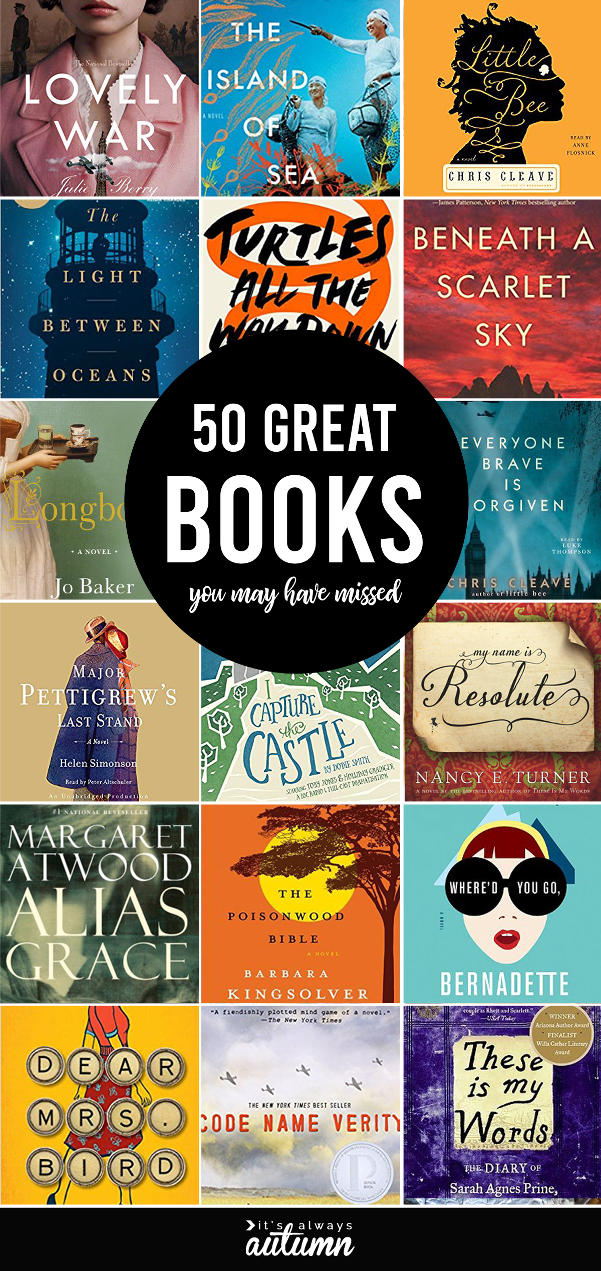 50 FANTASTIC books you may have missed!