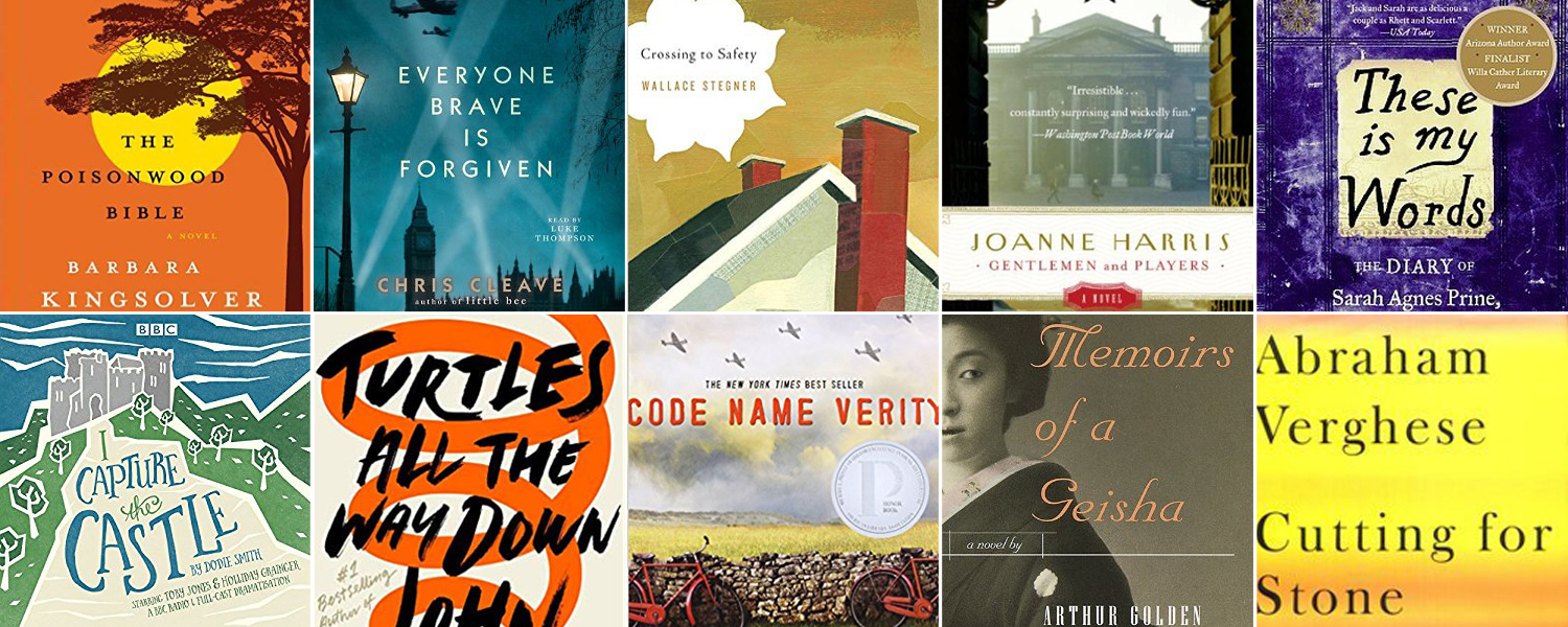 50 amazing books to read when you're bored