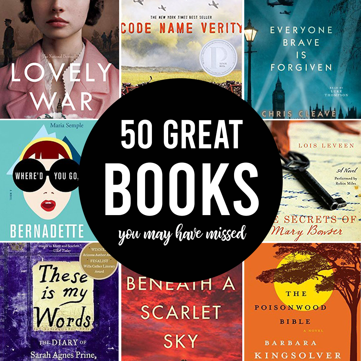 50 fantastic books you may have missed
