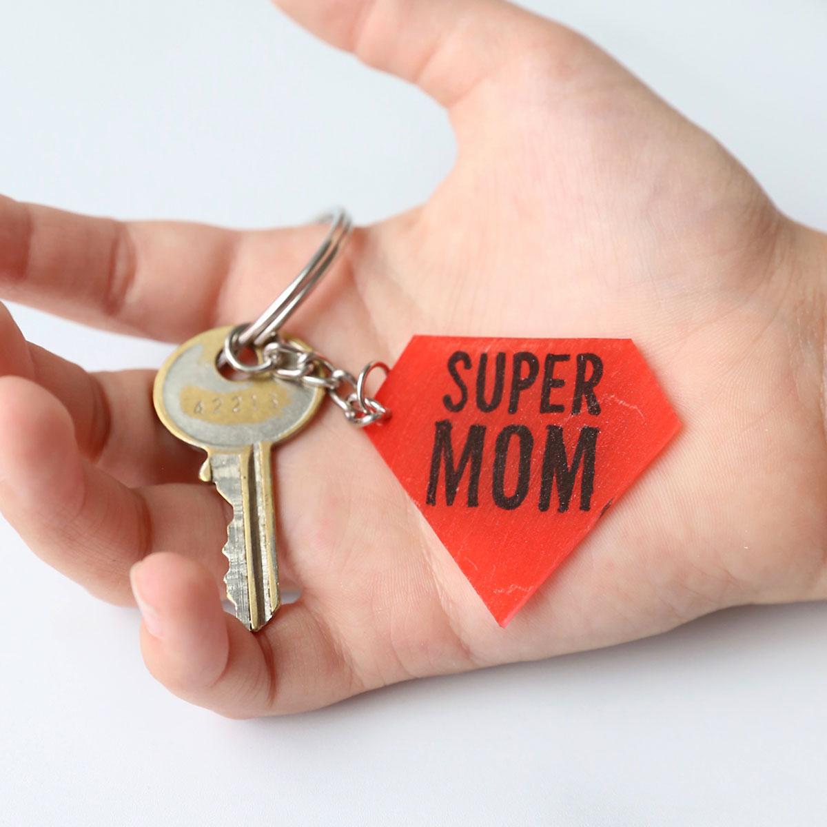 Shrinking Dink Key Chains for {Super} Mom