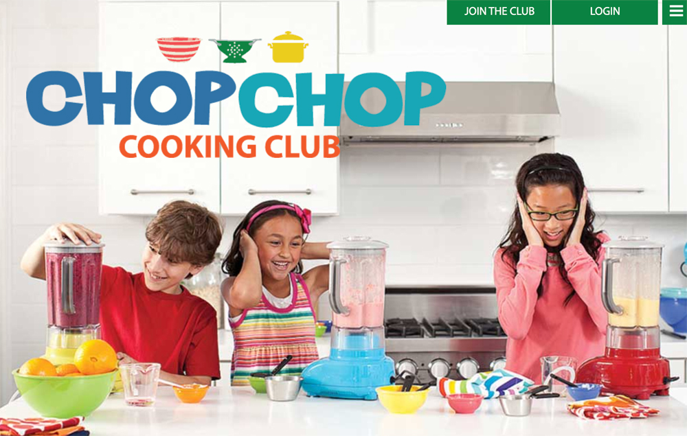 Free online cooking class for kids