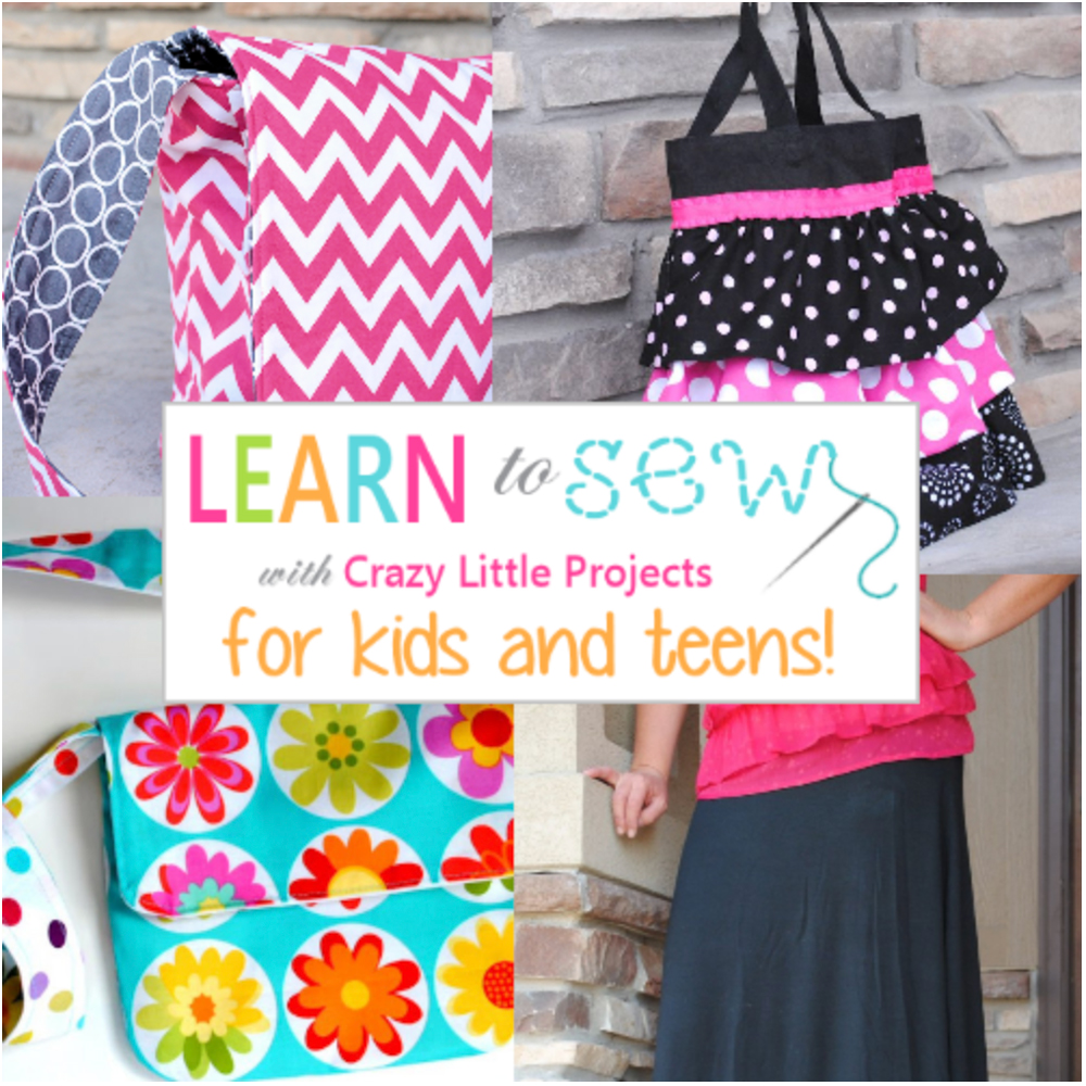 Free online sewing class for kids