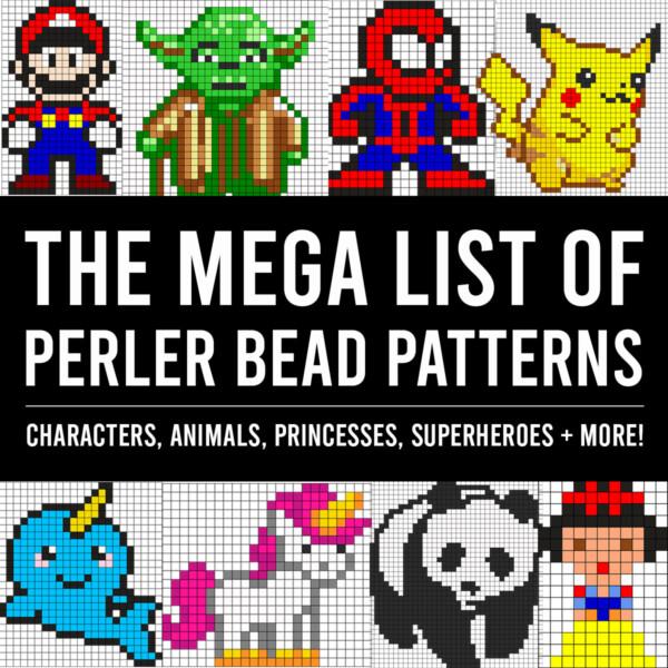 The MEGA list of Perler bead patterns