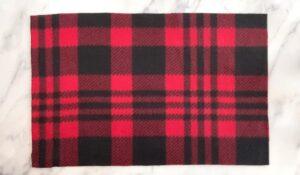 Fleece rectangle